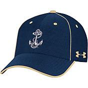 Under Armour Men's Navy Midshipmen Navy Isochill Adjustable Hat