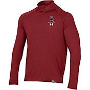 Under Armour Men's South Carolina Gamecocks Garnet Universal Lightweight Quarter-Zip Shirt