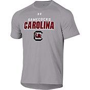 Under Armour Men's South Carolina Gamecocks Grey Tech Performance T-Shirt