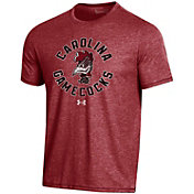 Under Armour Men's South Carolina Gamecocks Garnet Bi-Blend Performance T-Shirt