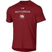 Under Armour Men's South Carolina Gamecocks Garnet Tech Performance T-Shirt