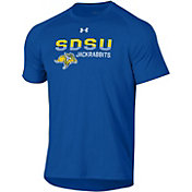 Under Armour Men's South Dakota State Jackrabbits Blue Tech Performance T-Shirt