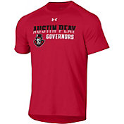 Under Armour Men's Austin Peay Governors Red Tech Performance T-Shirt
