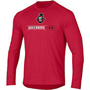Under Armour Men's Austin Peay Governors Red Long Sleeve Tech Performance T-Shirt