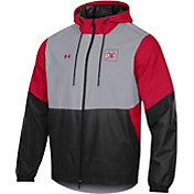 Under Armour Men's Utah Utes Grey Fieldhouse Full-Zip Jacket