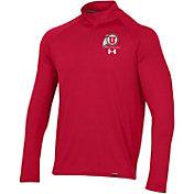 Under Armour Men's Utah Utes Crimson Universal Lightweight Quarter-Zip Shirt
