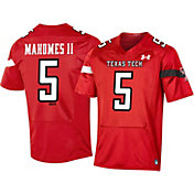 Under Armour Men's Patrick Mahomes II Texas Tech Red Raiders #5 Red Replica Football Jersey