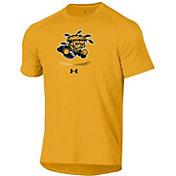 Under Armour Men's Wichita State Shockers Gold Tech Performance T-Shirt
