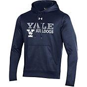 Under Armour Men's Yale Bulldogs Yale Blue Armour Fleece Performance Hoodie
