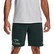 Under Armour Men's Project Rock Terry Iron Shorts