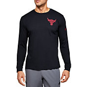 Under Armour Men's Project Rock Hardest Worker Graphic Long Sleeve Shirt