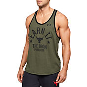 Under Armour Men's Project Rock Earn It Graphic Tank Top