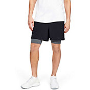 Under Armour Men's Qualifier 2-in-1 5'' Shorts