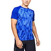 Under Armour Men's Qualifier Printed Running Short Sleeve T-Shirt