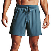 "Under Armour Men's 7"" Qualifier Speedpocket Branded Shorts"