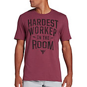 Under Armour Men's Project Rock Hardest Worker Graphic T-Shirt