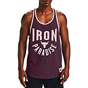 Under Armour Men's Project Rock Iron Paradise Graphic Tank Top