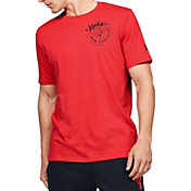 Under Armour Men's Project Rock Welcome To Iron Paradise Graphic T-Shirt