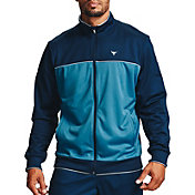 Under Armour Men's Project Rock Knit Full-Zip Track Jacket