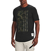 Under Armour Men's Project Rock Veteran's Day Flag Graphic T-Shirt