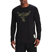Under Armour Men's Project Rock Veteran's Day Graphic Long Sleeve Shirt