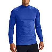 Under Armour Men's ColdGear Rush 2.0 Mock Neck Long Sleeve Shirt