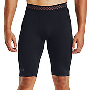 "Under Armour Men's 12"" HeatGear RUSH 2.0 Long Compression Shorts"