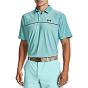 Under Armour Men's Iso-Chill Hollen Stripe Polo Shirt