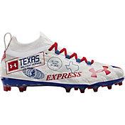 Under Armour Men's Blur LE Texas MC Football Cleats