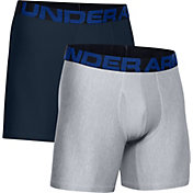 Under Armour Men's Tech 6'' Boxerjock Boxer Briefs 2-Pack