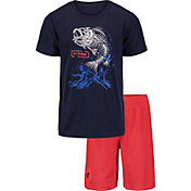 Under Armour Toddler Boys' Bass Bones T-Shirt and Shorts 2-Piece Set