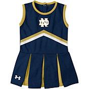 Under Armour Toddler Girls' Notre Dame Fighting Irish Navy Cheer Dress