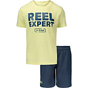 Under Armour Toddler Boys' Reel Expert T-Shirt and Shorts 2-Piece Set