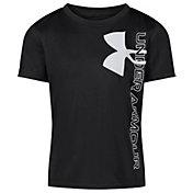 Under Armour Boys' Split Big Logo Short Sleeve T-Shirt