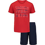 Under Armour Toddler Boys' Tackle Everything T-Shirt and Shorts 2-Piece Set