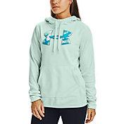 Under Armour Women's Armour Fleece Camo Shine Big Logo Hoodie