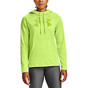Under Armour Women's Armour Fleece Chenille Shine Pullover Hoodie