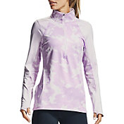 Under Armour Women's ColdGear Camo 1/2-Zip Long Sleeve Shirt