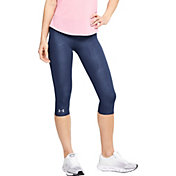 Under Armour Women's Fly Fast Printed Speed Capris Running Leggings