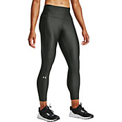 Under Armour Women's HeatGear Armour Compression Ankle Crop Leggings