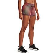 Under Armour Women's HeatGear Armour Midrise Print Shorty Shorts