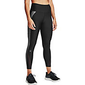 Under Armour Women's HeatGear Armour Colorblock Cropped Leggings