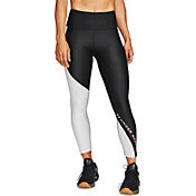 Under Armour Women's HeatGear Armour Wordmark Cropped Leggings