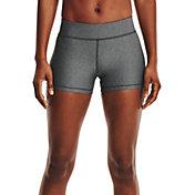 "Under Armour Women's HeatGear Mid Rise 3"" Shorts"