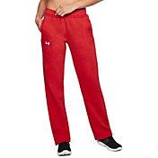 Under Armour Women's Hustle Fleece Pants