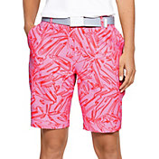 Under Armour Women's Links Printed Golf Shorts