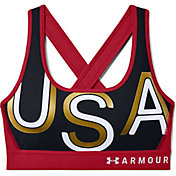 Under Armour Women's Mid Crossback Americana Bra