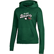 Under Armour Women's UAB Blazers Green All Day Pullover Hoodie