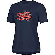 Under Armour Women's Auburn Tigers Blue Performance Cotton T-Shirt