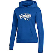 Under Armour Women's Christopher Newport Captains Royal Blue All Day Pullover Hoodie